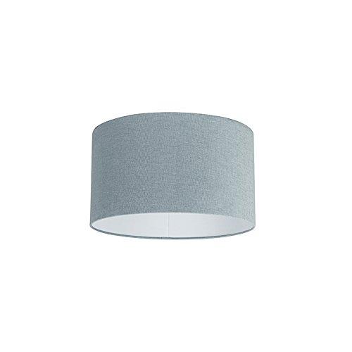 QAZQA Moderno Algodón y poliéster Pantalla azul claro 35/35/20, Redonda/Cilíndrica Pantalla lámpara colgante,Pantalla lámpara de pie