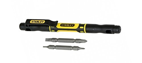 Stanley Hand Tools 66-344 4-In-1 Bi-Material Pocket Driver