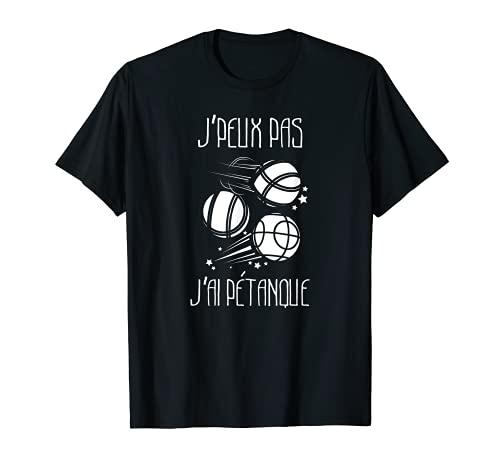 Tshirt Petanque pour joueur de boules T-Shirt