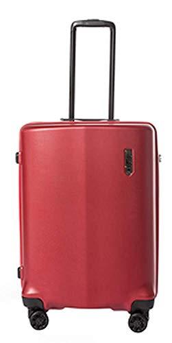 Epic Koffer-Set Clip 65 Zentimeter 65 Liter 4 Räder Rot Zahlenschloss M-65 Liter