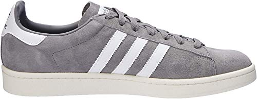 adidas Herren Campus Sneakers, Grau (Grey Three F17/ftwr White/chalk White), 45 1/3 EU