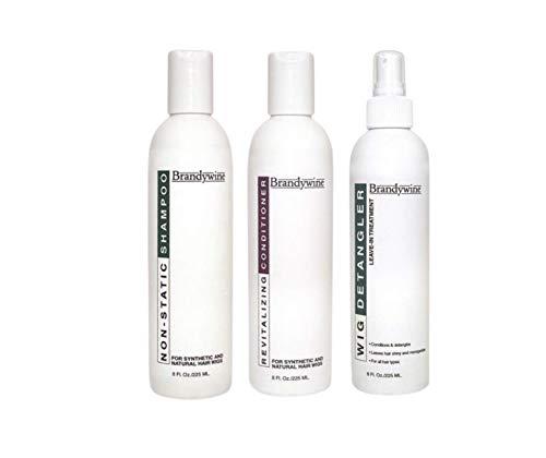 Brandywine Shampoo, Conditioner & Detangler Wig Care Kit (8 oz. each)