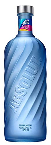 Absolut Blue Vodka - Limited Edition Absolut Movement - 1l.