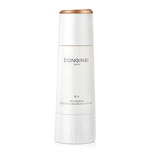 DONGINBI Red Ginseng Moisture & Balancing Softener - Anti-Wrinkle Face Toner- Deep Skin Moisturizer with Condensed Red Ginseng Water for Anti-Aging, Dry or Damaged Skin by Korea Ginseng Corp - 4.4 Oz