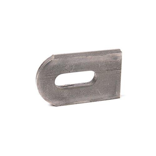 Anschweißlasche Stahl 50 x 30 x 6 mm Langloch Ø 9 x 25 mm, 100 Stück