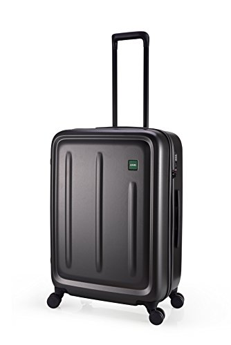 Lojel Strio Upright Spinner Luggage, Meltallic Grey