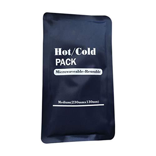 WEQQ Bolsa de Fisioterapia de compresión fría y Caliente Bolsa de Hielo de Tela Bolsa de Lesiones Deportivas (Azul)