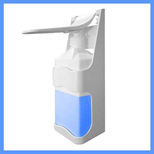 simaranda Desinfektionsmittelspender 1000ml Desinfektionsspender Ellbogenspender Wandmontage Seifenspender 13