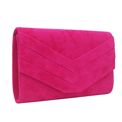 LIMITA Damen Handtaschen Mode reine Farbe Totes Handtaschen mit geometrischem Druck Cocktail Party Handtaschen Chain Phone Abendtaschen