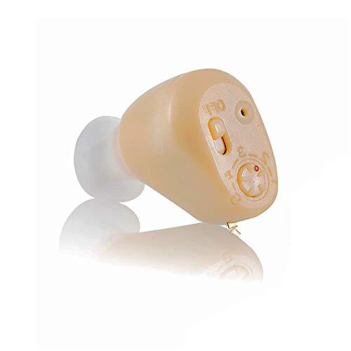 BJ&HH Dispositivo De Ayuda Auditiva Digital Ultra Mini: Equipo De Reducción De Ruido para Adultos Y Ancianos con Función De Reducción De Ruido,One