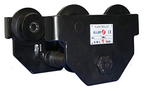 ELLER PT - Robuster Laufkatze - Flanschbreite 50-203mm - Dieses Rollfahrwerk Bewegt von Lasten bis zu 500kg - Angehobene Last kann leicht horizontal bewegt werden