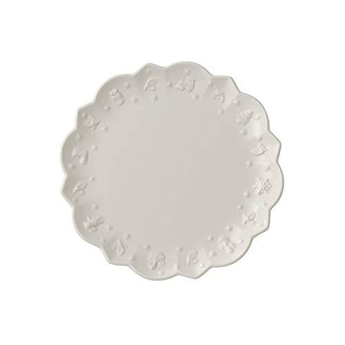 Villeroy & Boch Toy\'s Delight Royal Classic Frühstücksteller, 23 cm, Premium Porzellan, Weiß