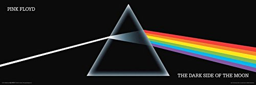 A Pink Floyd - Dark Side of The Moon Poster 36 x 12 (UNFRAMED)