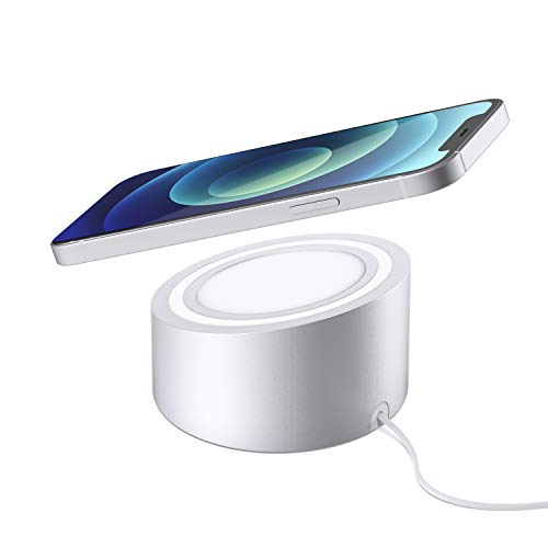 Stouchi Magsafe Charger Stand Wireless Charging Heavy-duty Premium Metal Holder Mag safe Desktop Dock Compatible with MagSafe Magnetic Charger for iPhone 12 (Not include Magsafe Charger in Package)