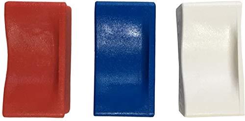Waymeduo Twist Tie Lazos met/álicos de aluminio para bolsas de celof/án Selladores de bolsas de colores Pl/ástico con alambre Lazos met/álicos Papel de regalo 800pcs 4 10cm Black