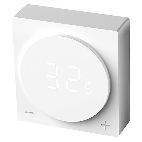 Nivian termostato inteligente Wifi para caldera individual - Compatible con Amazon Alexa y Google Home–Control remoto con APP Tuya