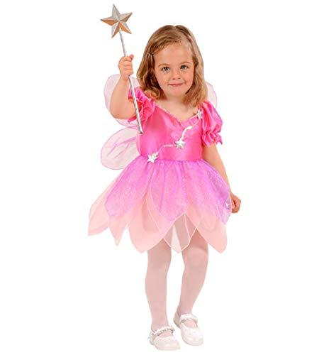 MKS Faschingsköstüm Kinderkostüm für Mädchen - in verschiedene Größen und Motiven (104 cm (2-3 Jahre), Fairy)