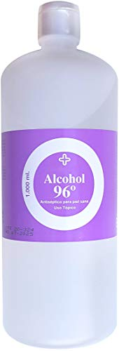 Alcohol 96 1 litro HISTOKIT, Antiséptico y Bactericida. Uso Tópico