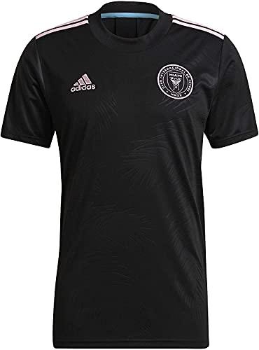 adidas 2021-22 Inter Miami Away Jersey - Black-Pink L