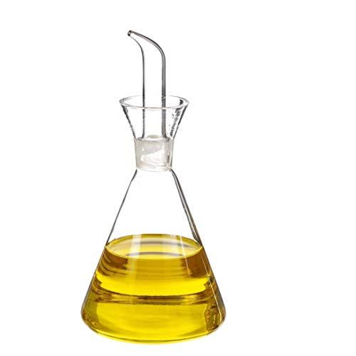 TIENDA EURASIA® Ölkanne, auslaufsicher, Glas, für klassische Küche, 550 ml, 22,50 x 10,50 cm (1)