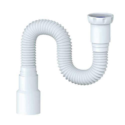 Spülen Siphon Sifon flexibler Ablaufschlauch 6/4