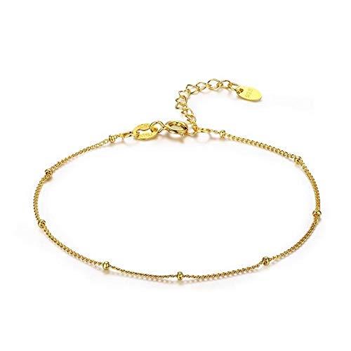 AYLCFC Armband van zilver voor dames, 925 sterling zilver, fijne parels, pantserketting, armband voor vrouwen, meisjes, vriendschap, sieraden, armbanden voor vrouwen