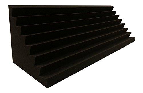 Bass Trap Absorber Lamellen (Pyramiden) Profil (Performance 2 Stk. Ca. 100x30x30cm)