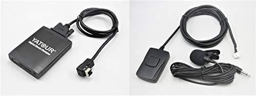 Yatour YTM06-CLAR-BT Adattatore con interfaccia USB,SD,AUX,MP3 player vivavoce bluetooth compatibile con Suzuki CLARION