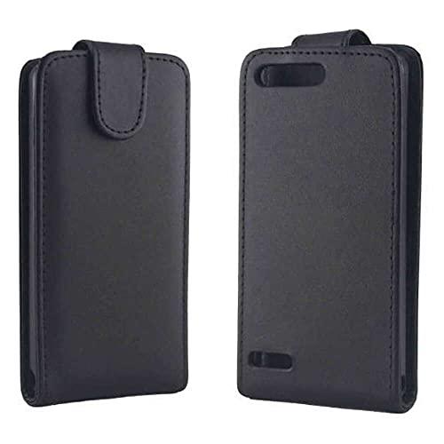 qiaohuan shop Funda de piel con tapa vertical para Huawei Ascend G6-T00 3G y P6 Mini
