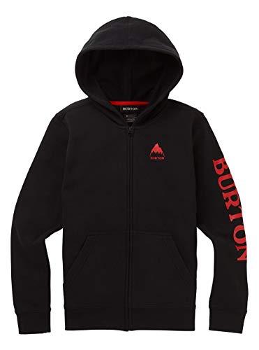 Burton Elite Sweat zippé à Capuche Garçon True Black FR: L (Taille Fabricant: L)