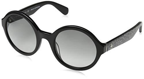 Kate Spade KHRISTA/S Occhiali da Sole, Nero (Black Silver Glitter), 52.0 Donna