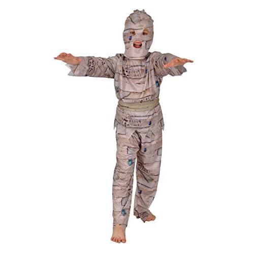 Ciao Costume Mummia tg.L (7-9 anni) Bambini unisex, Bianco, 61065.L