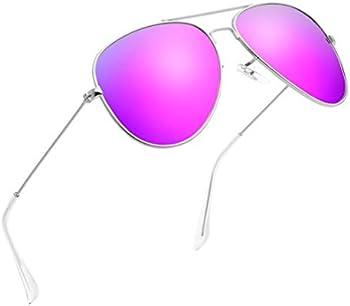 Polarized UV400 Unisex Classic Aviator Sunglasses (various colors)