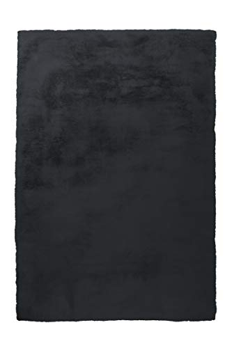 Arte Espina Teppich Rabbit 100 Anthrazit Ø 160cm RUND