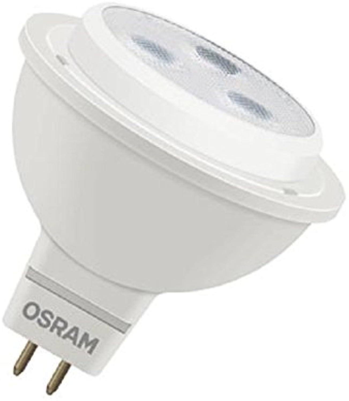 Osram LED-Leuchtmittel, Plastik, GU5.3, 2.8 W, Silber, 10-er Pack, Stück