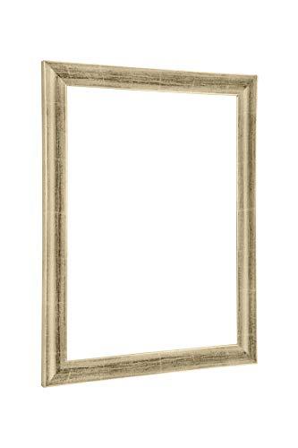 NiRa35-Top Cadre Photo 70x100 cm en Couleur Titangold avec Verre Acrylique antireflet