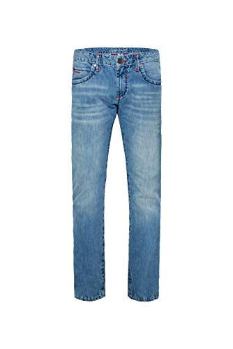 Camp David Herren Jeans NI:CO mit Kontrastriegel Regular Fit