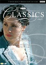 BBC Classics collection 4 vol. 6 - 4 TV mini-series: Pride and Prejudice (1980) / Sense and Sensibility (1971) / He Knew He Was Right (2004) / Barchester Chronicles (1982) - 8 discs DVD Box set
