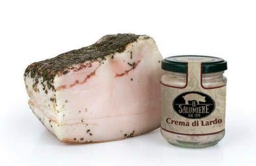 Crema di Lardo Vasetto gr.200 Spalmabile - Norcineria Umbra Produzione Artigianale - Gluten Free - Il Salumiere 1978