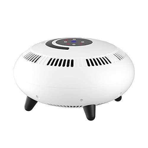 boknight Calentador eléctrico Vertical de Aire Caliente de Cinco Lados de 2000 W y 360 Grados, Calentador eléctrico doméstico eficiente de Calentamiento rápido, Forma de OVNI, Ventilador Caliente