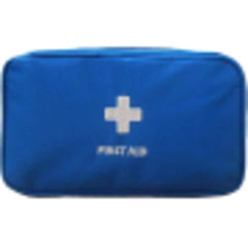 N-B Botiquín de primeros auxilios para emergencias médicas portátil de viaje al aire libre camping supervivencia bolsa médica de gran capacidad para hogar/coche