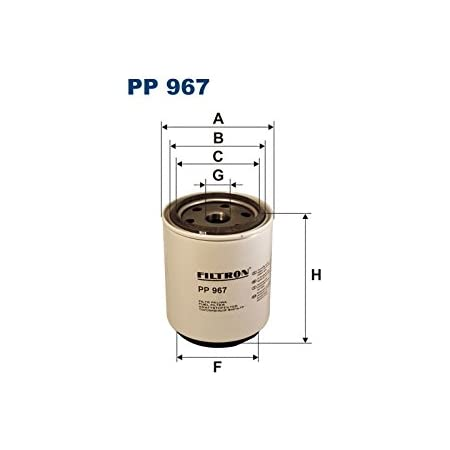 Filtron Kraftstofffilter Pp865 3 Auto