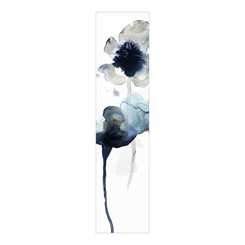 Bilderwelten Cortina Deslizable Impresa Panel Japonés Midnight Bloom II Sin Montaje 250 x 60cm