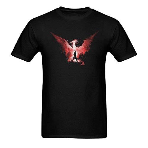 AWonder T-Shirts en Coton pour Hommes avec Cou coll¨¦ Dragon Age Inquisition Personnaliser