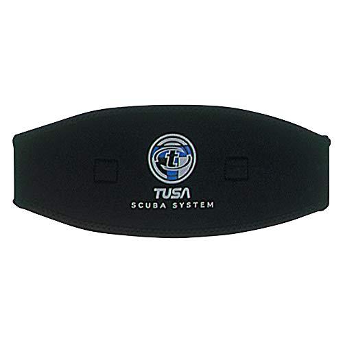 TUSA Mask Strap-Cover, schwarz