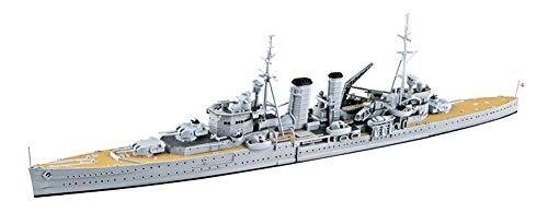 青島文化教材社 1/700 ウォーターラインシリーズ No.807 イギリス海軍 重巡洋艦 エクセター プラモデル