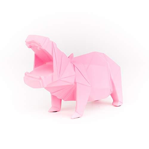 Helio Ferretti. Lámpara Grande Geometric. Luz Led de decoración con figura de hipopótamo