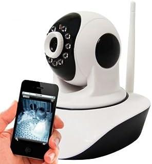 Camera IP Ir Wireless com Visão Noturna para Celular Iphone e Android - IP032CK