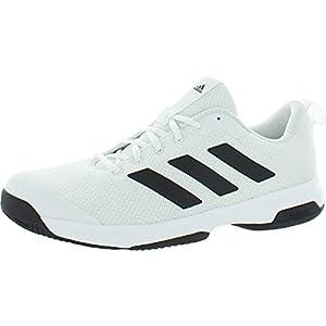 adidas Men's Game Spec Athletic Shoe (White, 12)