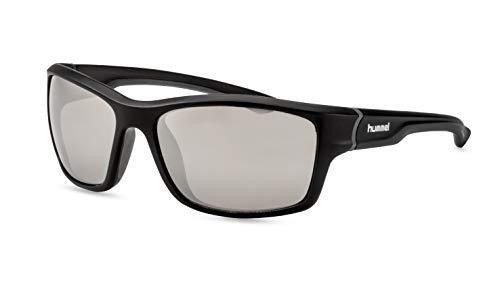 hummel Herren Sportbrille/Hochwertige Sonnenbrille für die Outdoor Saison/Silber F2510280